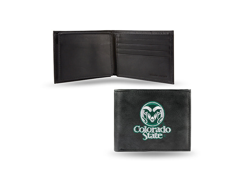 NCAA Colorado State Rams Embroidered Billfold / Wallet