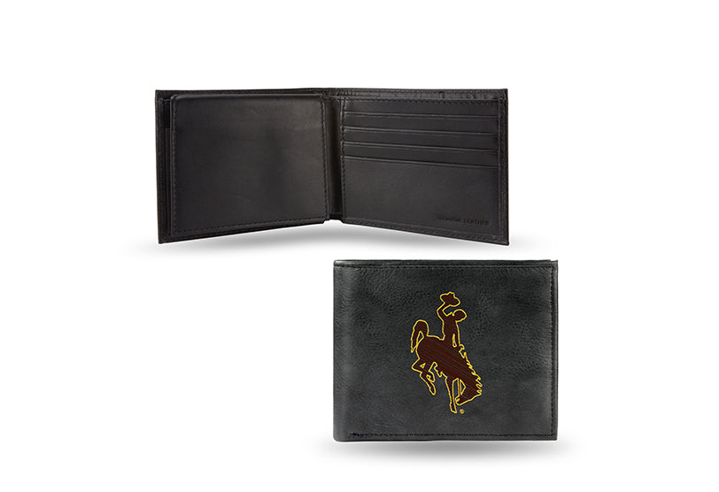 NCAA Wyoming Cowboys Embroidered Billfold / Wallet