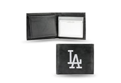 "MLB Los Angeles Dodgers ""White LA"" Embroidered Billfold / Wallet"