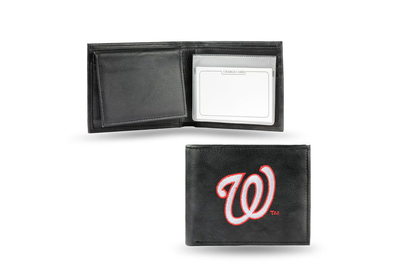 MLB Washington Nationals Embroidered Billfold / Wallet