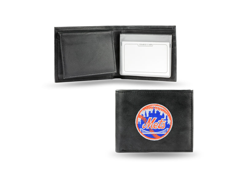 MLB New York Mets Embroidered Billfold / Wallet