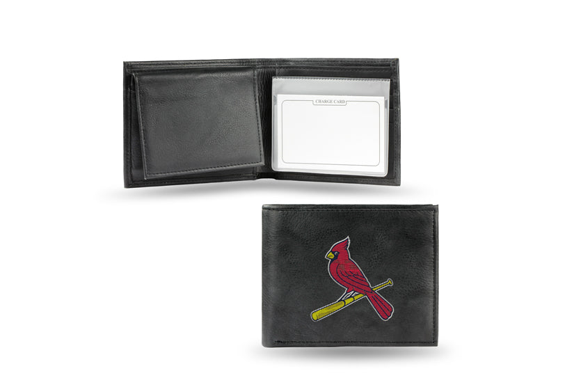 MLB St. Louis Cardinals Embroidered Billfold / Wallet