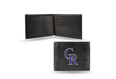 MLB Colorado Rockies Embroidered Billfold / Wallet