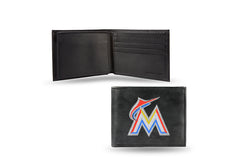 MLB Miami Marlins Embroidered Billfold / Wallet