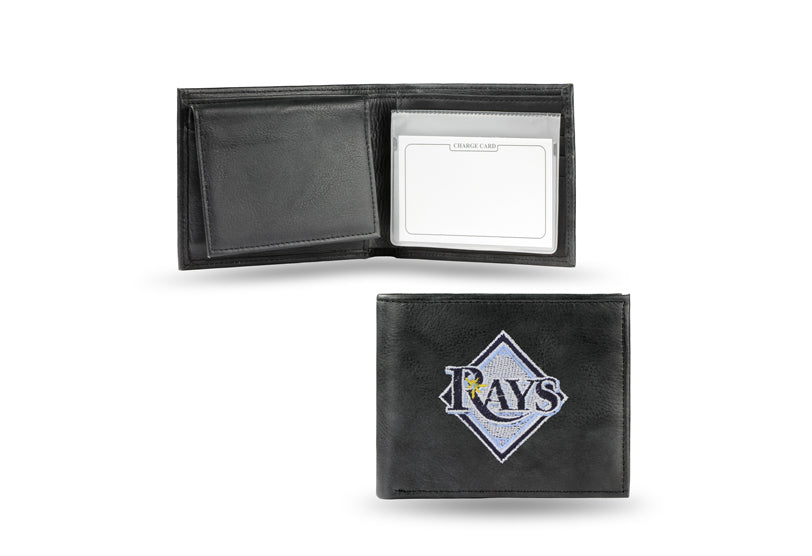 MLB Tampa Bay Rays Embroidered Billfold / Wallet