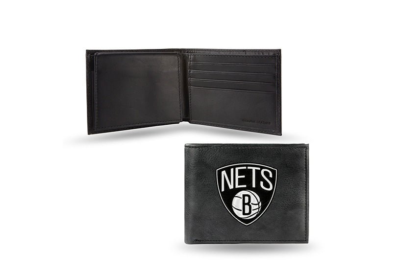 NBA Brooklyn Nets Embroidered Billfold / Wallet