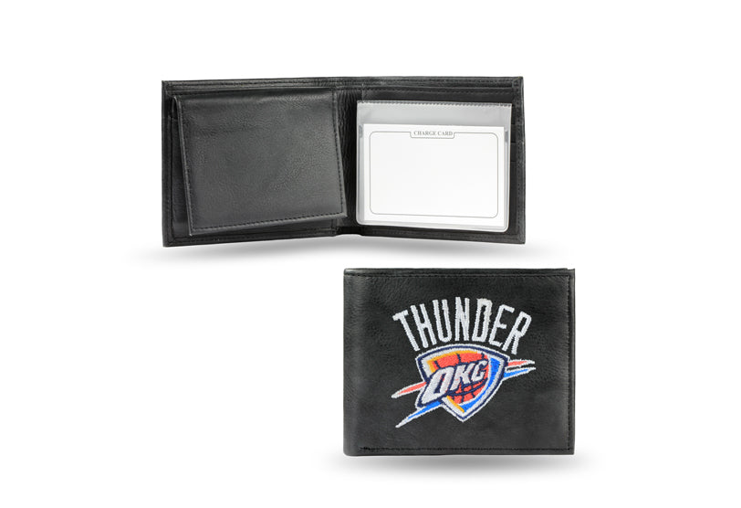 NBA Oklahoma City Thunder Embroidered Billfold / Wallet