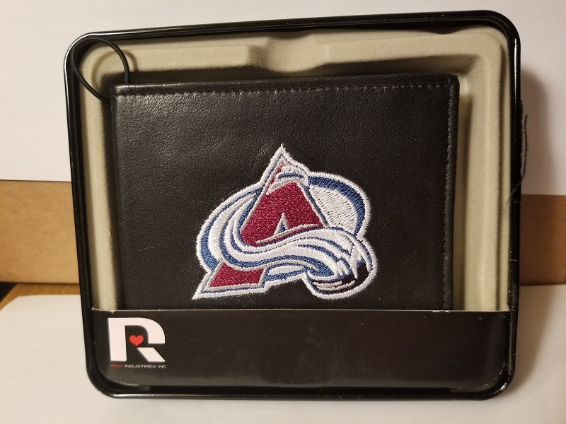 NHL Colorado Avalanche Embroidered Billfold / Wallet