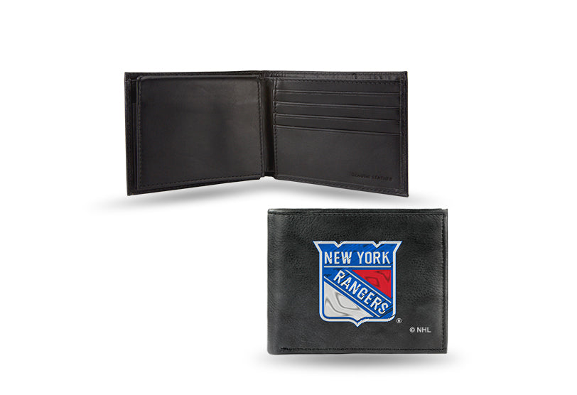 NHL New York Rangers Embroidered Billfold / Wallet