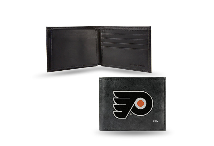 NHL Philadelphia Flyers Embroidered Billfold / Wallet