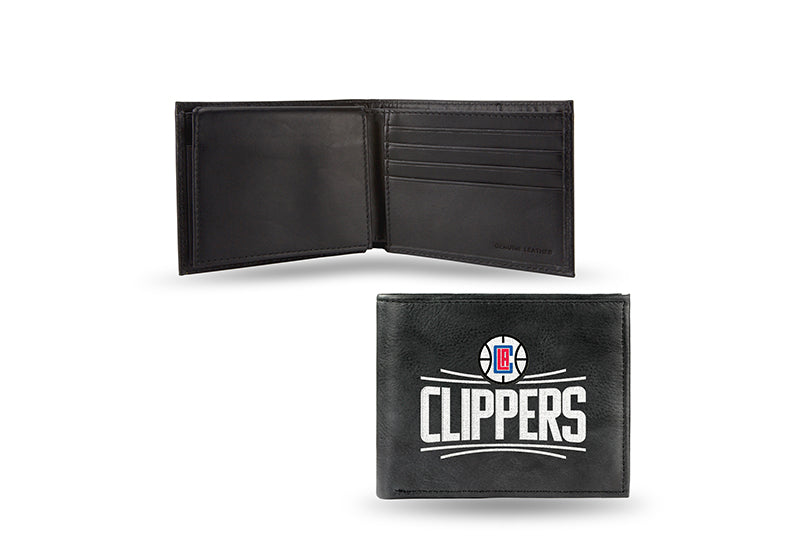 NBA Los Angeles Clippers Embroidered Billfold / Wallet