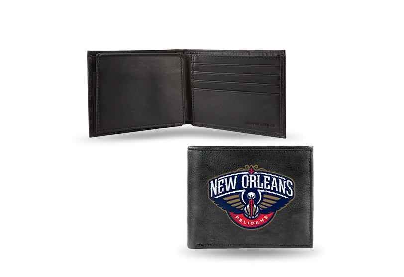 NBA New Orleans Pelicans Embroidered Billfold / Wallet