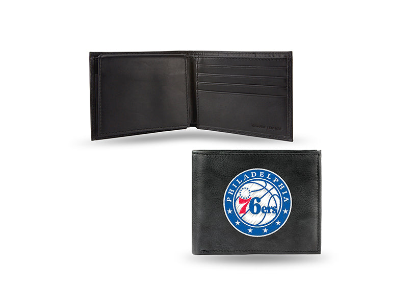 NBA Philadelphia 76ers Embroidered Billfold / Wallet