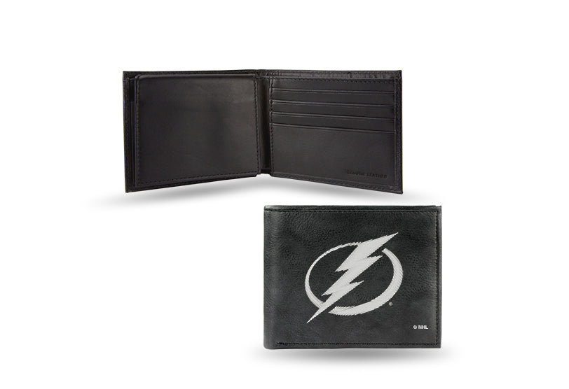 NHL Tampa Bay Lightning Embroidered Billfold / Wallet