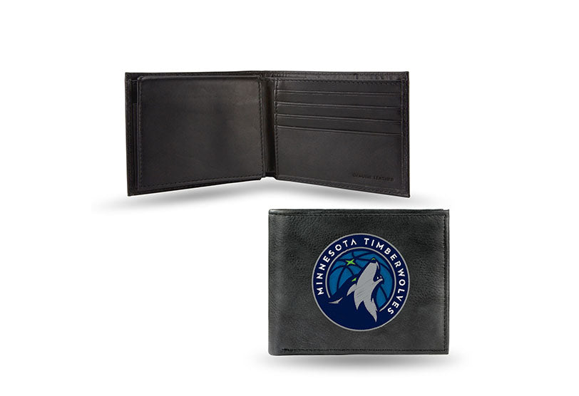 NBA Minnesota Timberwolves Embroidered Billfold / Wallet