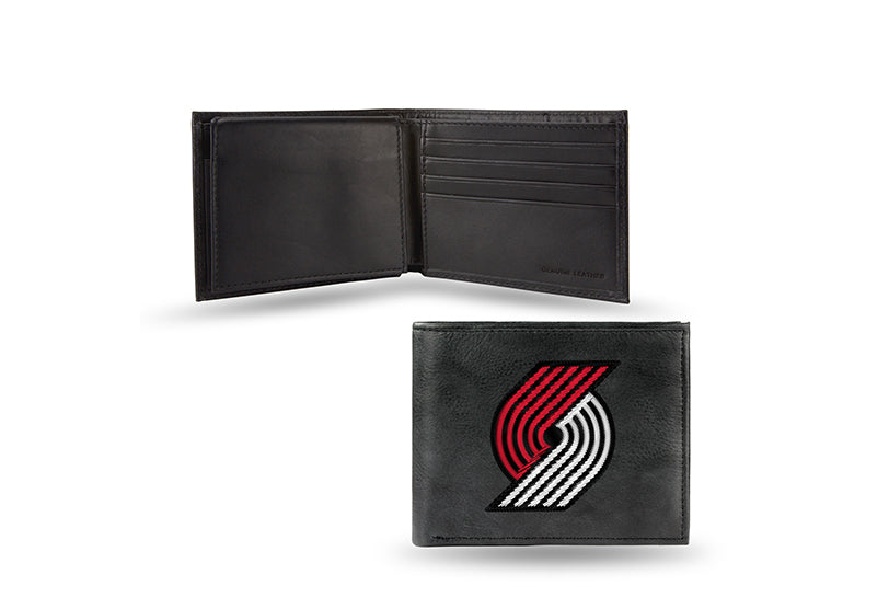 NBA Portland Trail Blazers Embroidered Billfold / Wallet