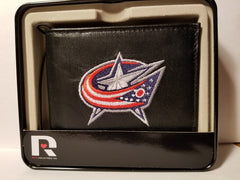 NHL Columbus Blue Jackets Embroidered Billfold / Wallet