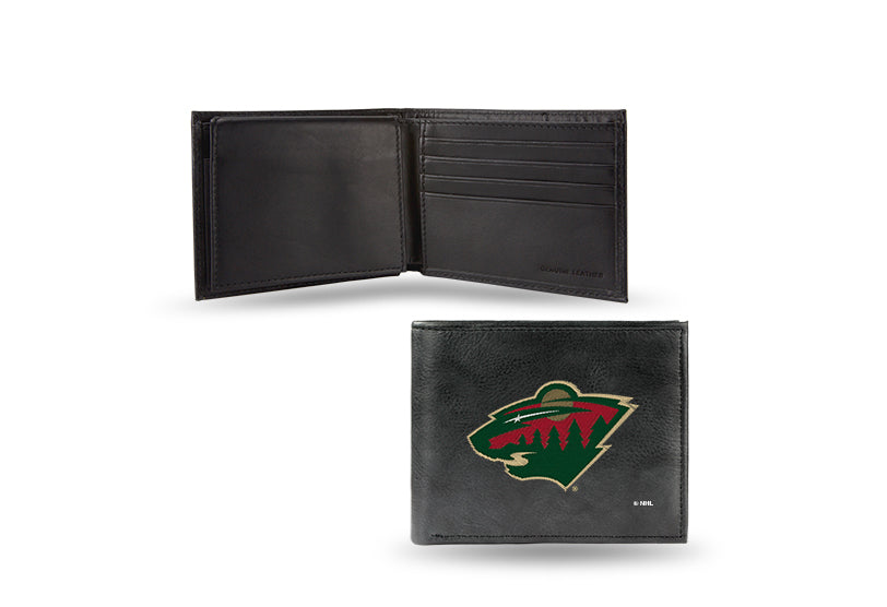 NHL Minnesota Wild Embroidered Billfold / Wallet