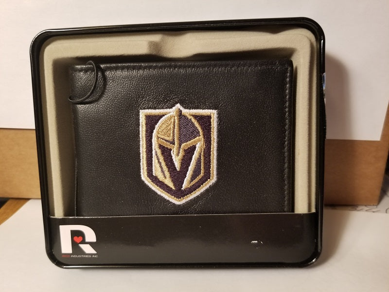 NHL Vegas Golden Knights Embroidered Billfold / Wallet
