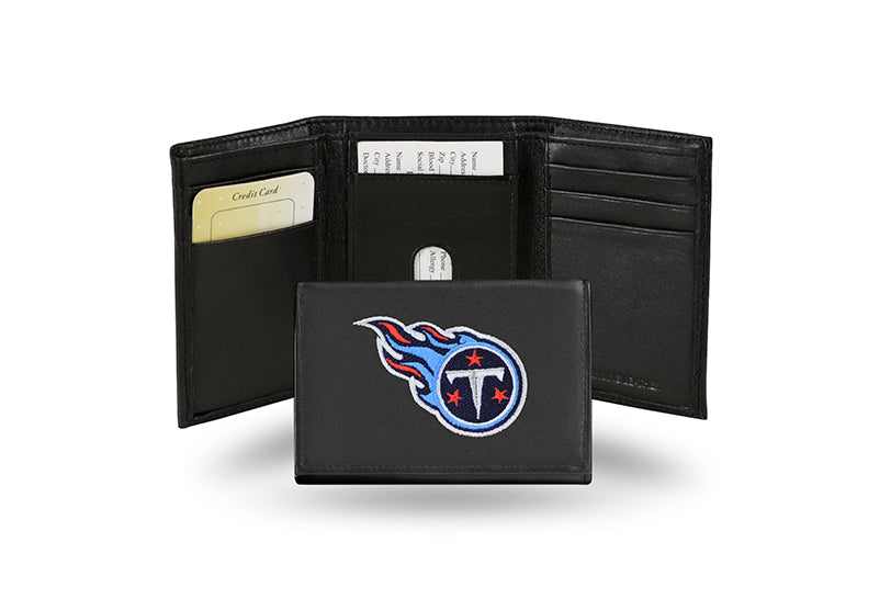 NFL Tennessee Titans Embroidered Tri-Fold / Wallet