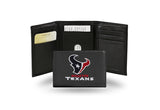 NFL Houston Texans Embroidered Tri-Fold / Wallet