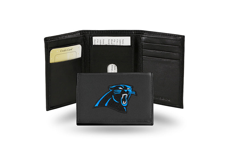 NFL Carolina Panthers Embroidered Tri-Fold / Wallet