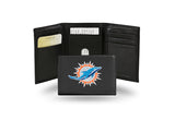 NFL Miami Dolphins Embroidered Tri-Fold / Wallet