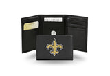 NFL New Orleans Saints Embroidered Tri-Fold / Wallet