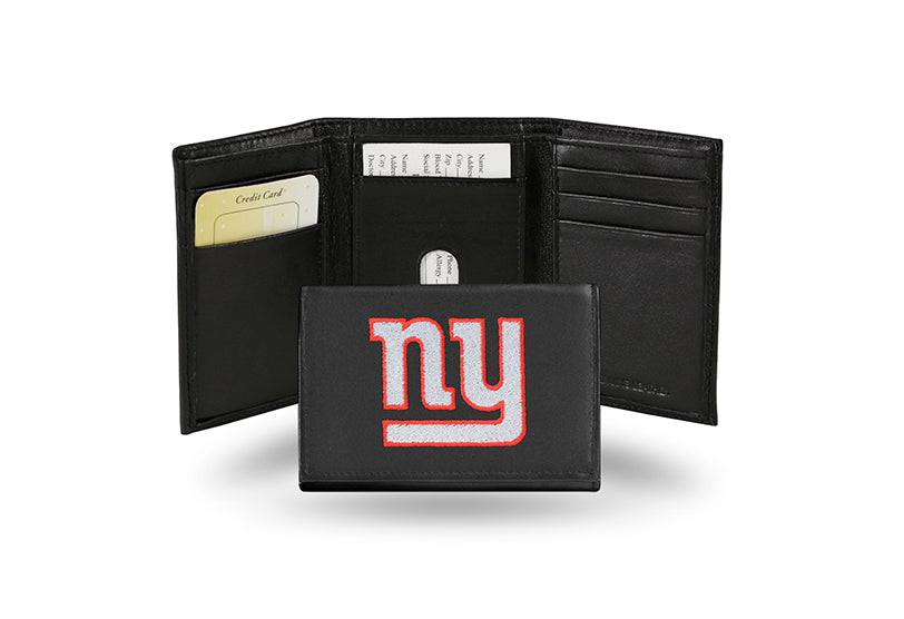 NFL New York Giants Embroidered Tri-Fold / Wallet