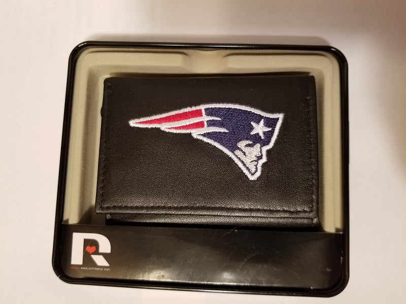 NFL New England Patriots Embroidered Tri-Fold / Wallet
