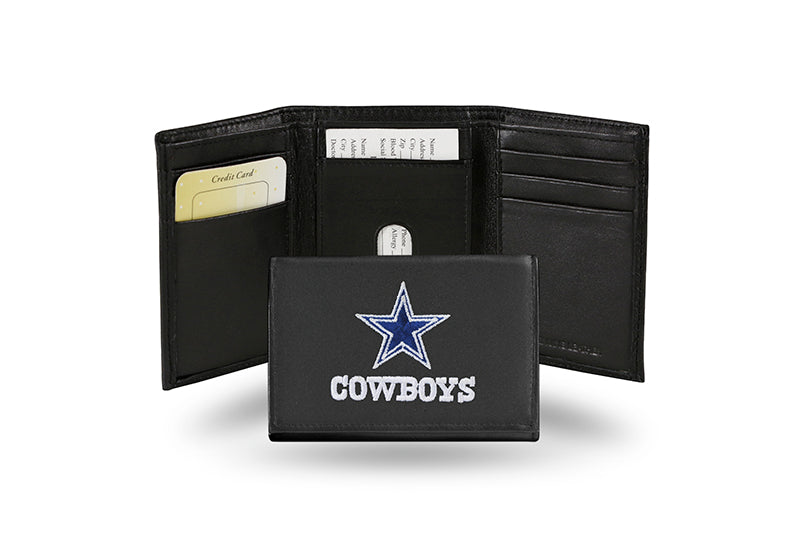 NFL Dallas Cowboys Embroidered Tri-Fold / Wallet