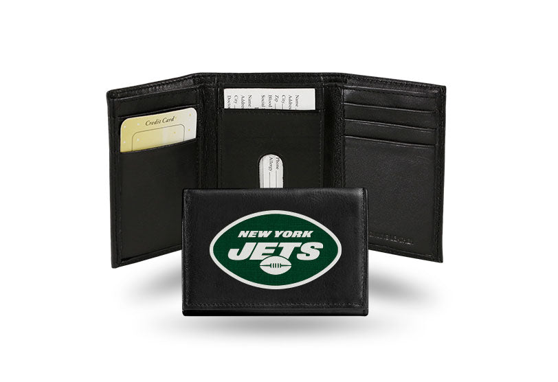 NFL New York Jets Embroidered Tri-Fold / Wallet
