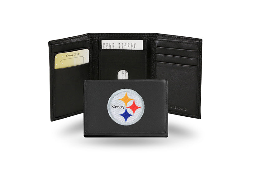 NFL Pittsburgh Steelers Embroidered Tri-Fold / Wallet
