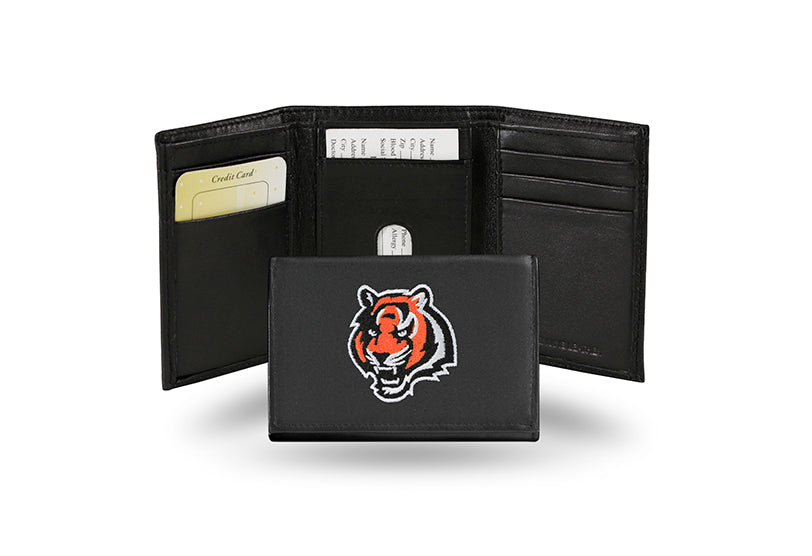 NFL Cincinnati Bengals Embroidered Tri-Fold / Wallet