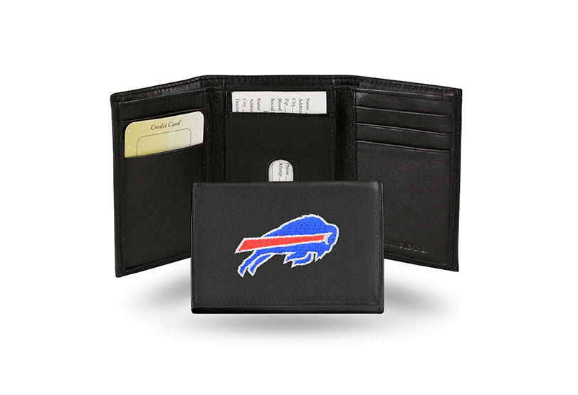 NFL Buffalo Bills Embroidered Tri-Fold / Wallet