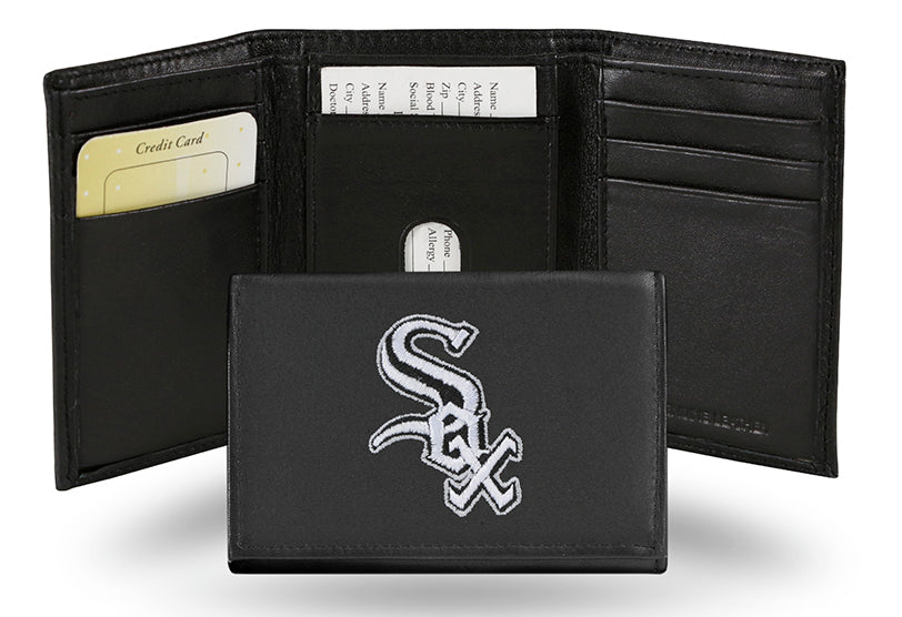 MLB Chicago White Sox Embroidered Tri-Fold / Wallet