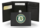 MLB Oakland Athletics Embroidered Tri-Fold / Wallet