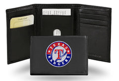 MLB Texas Rangers Embroidered Tri-Fold / Wallet
