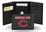 MLB Cincinnati Reds Embroidered Tri-Fold / Wallet