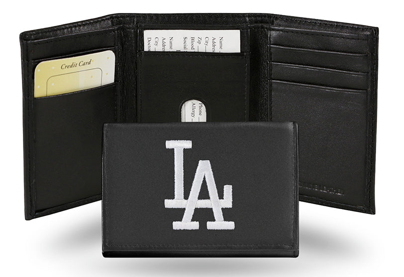 MLB Los Angeles Dodgers Embroidered Tri-Fold / Wallet