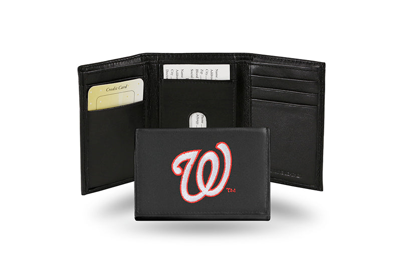 MLB Washington Nationals Embroidered Tri-Fold / Wallet
