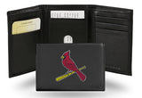MLB St. Louis Cardinals Embroidered Tri-Fold / Wallet