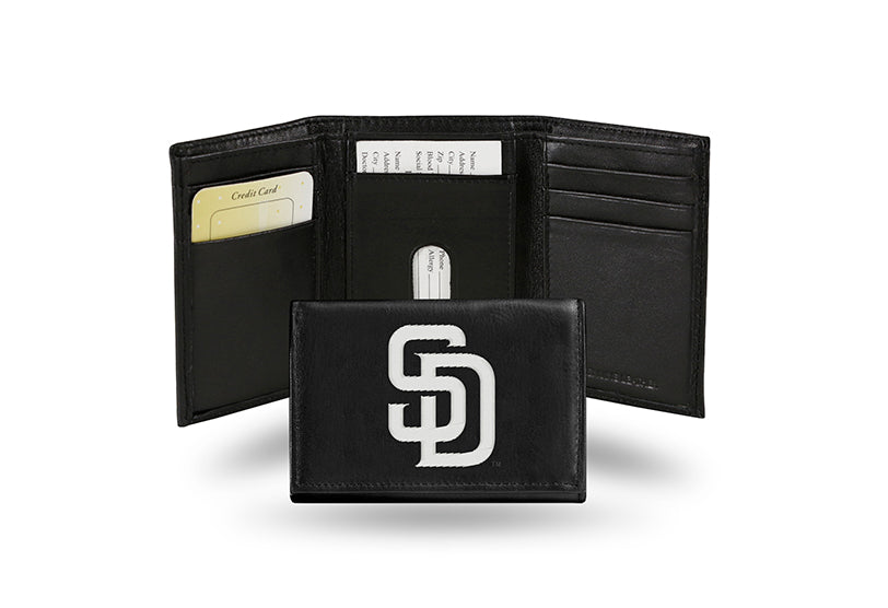 MLB San Diego Padres Embroidered Tri-Fold / Wallet