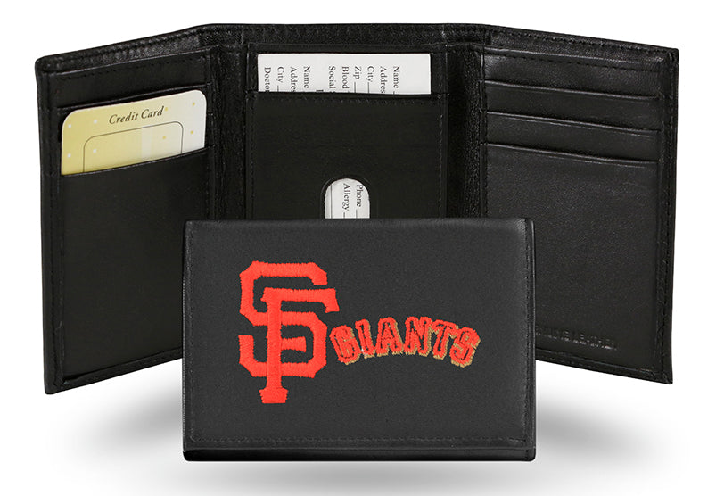 MLB San Francisco Giants Embroidered Tri-Fold / Wallet