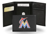 MLB Miami Marlins Embroidered Tri-Fold / Wallet