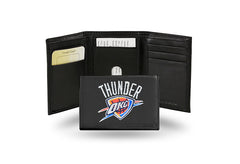 NBA Oklahoma City Thunder Embroidered Tri-Fold / Wallet