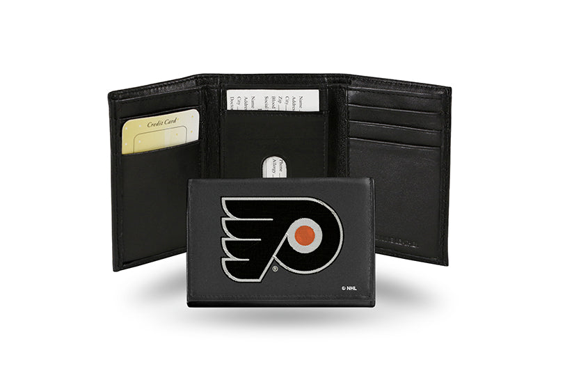 NHL Philadelphia Flyers Embroidered Tri-Fold / Wallet