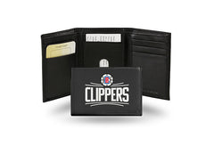 NBA Los Angeles Clippers Embroidered Tri-Fold / Wallet