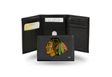 NHL Chicago Blackhawks Embroidered Tri-Fold / Wallet