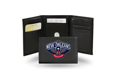 NBA New Orleans Pelicans Embroidered Tri-Fold / Wallet